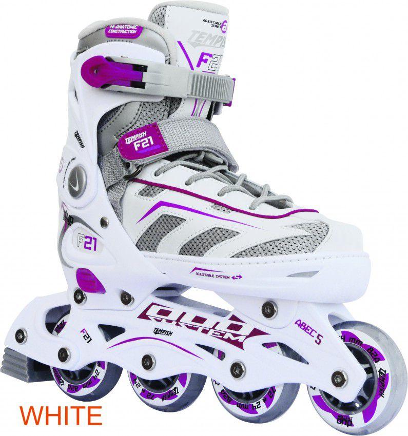 TEMPISH Rolls F21, white and purple, r. 29-32 (10000000402-WHTS) Skrituļslidas