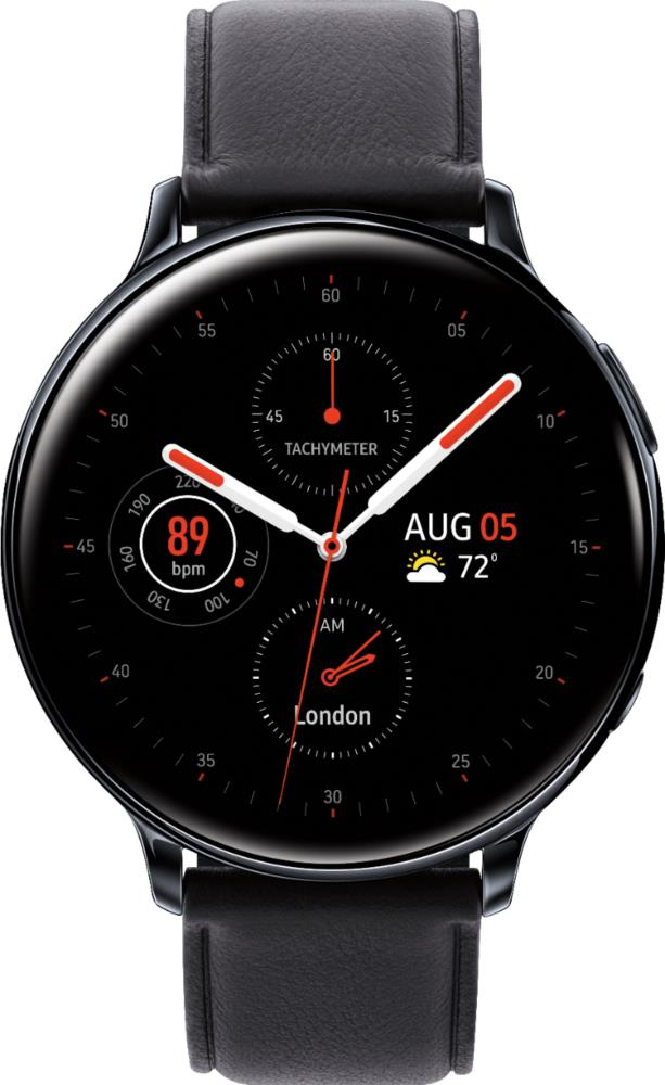 Samsung Galaxy Watch Active2 Aluminum 40mm LTE Aqua Black Viedais pulkstenis, smartwatch