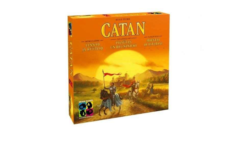 Brain Games Catan Cities & Knights galda spēle