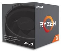AMD Ryzen 5 2600 3,4 GHz (Pinnacle Ridge) Socket AM4 - boxed CPU, procesors