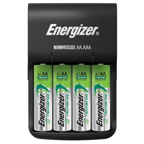 Energizer BASE LADETAJS AA/AAA AR 4 AA 1300MAH AKUMULATORIEM
