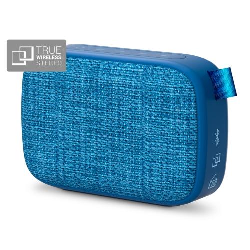 Energy Sistem Fabric Box 1+ Pocket 3 W, Portable, Wireless connection, Blueberry, Bluetooth mājas kinozāle