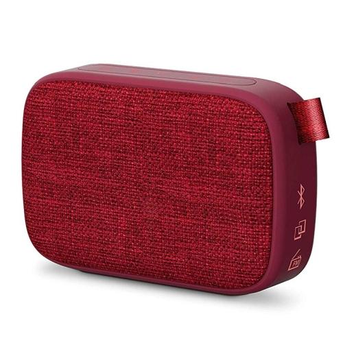 Energy Sistem Fabric Box 1+ Pocket 3 W, Portable, Wireless connection, Cherry, Bluetooth mājas kinozāle