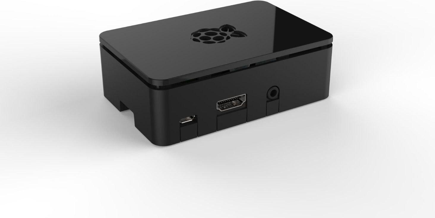 Raspberry Pi 2 / Model B+ Case, black Raspberry PI datora daļas
