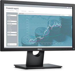 "Dell LCD E1916H 18.5""/HD/LED/TN/VGA/DP monitors"