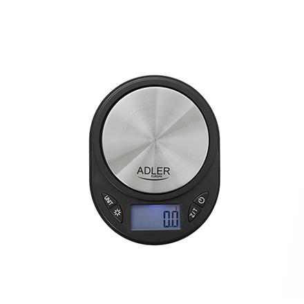 Adler Jewellery Scale AD 3162 Maximum weight (capacity) 0.75 kg, Accuracy 0.1 g, Black 5902934830881 Svari