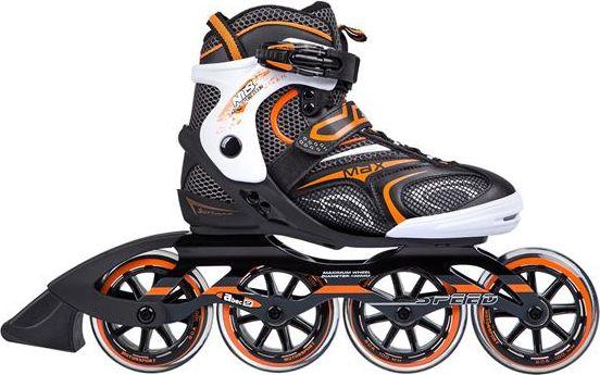 NILS Extreme Roller Skates NA1060S black size 44 16-10-016 Skrituļslidas