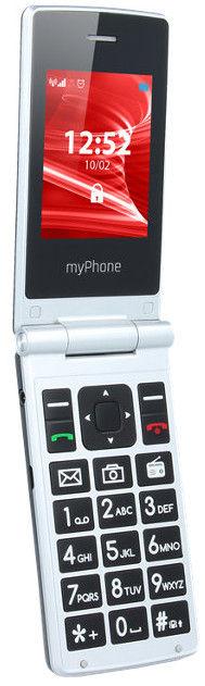 MyPhone Tango Dual silver/black 5902983601760 Mobilais Telefons