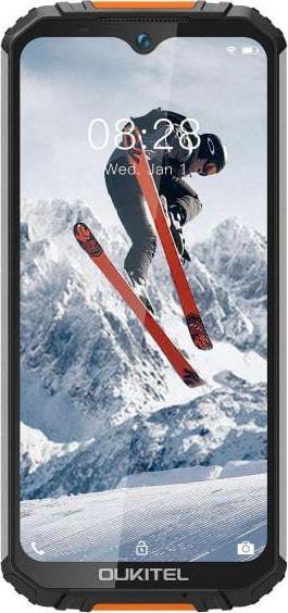 Oukitel WP6 128 GB Dual SIM smartphone Black and orange Mobilais Telefons