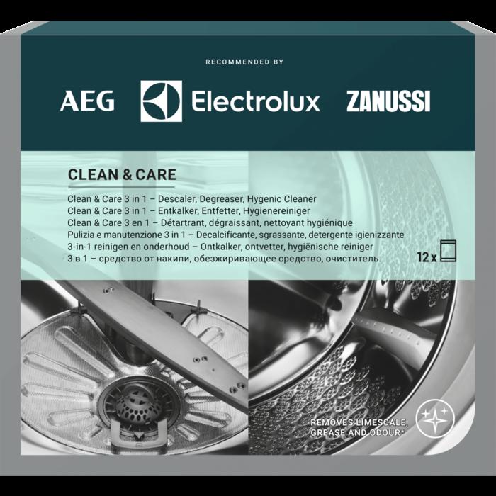 Electrolux tīrišanas līdzeklis - sāls trauku un veļas mazgājamajām mašīnām, 12 gab.x50g M3GCP400 Sadzīves ķīmija