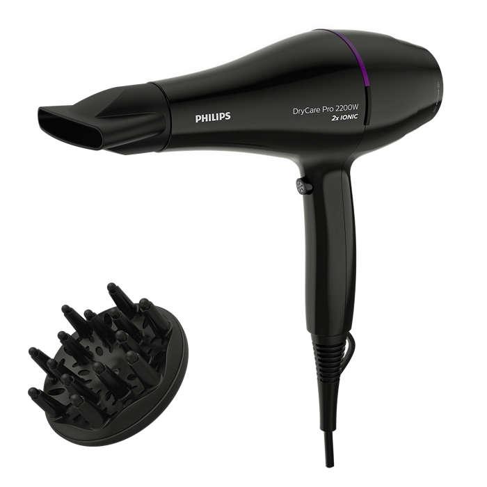 PHILIPS DryCare Pro matu fēns, 2200W BHD274/00 Matu fēns