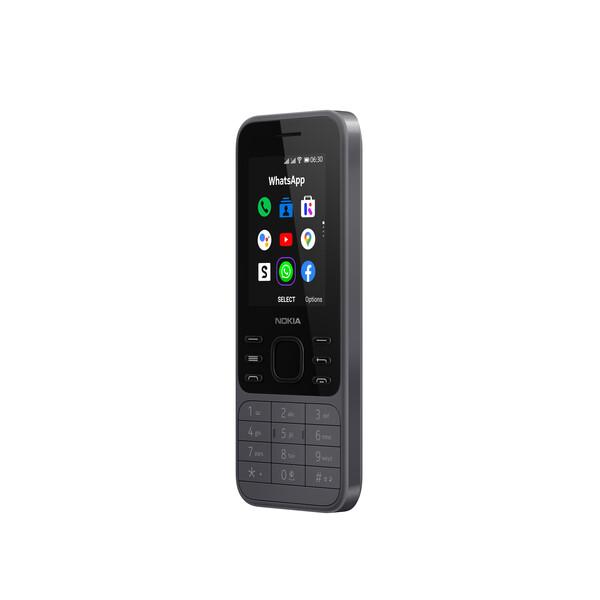 Nokia 6300 4G TA-1286 Charcoal EU Mobilais Telefons
