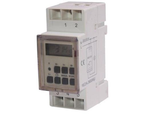Timer MCE09 DIN 3600W kabelis, vads