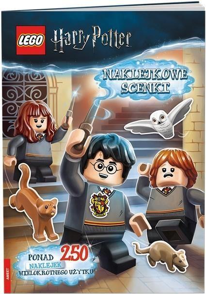 Ameet Lego (R) Harry Potter. Sticker Scenes (teksts - poļu valodā) Literatūra