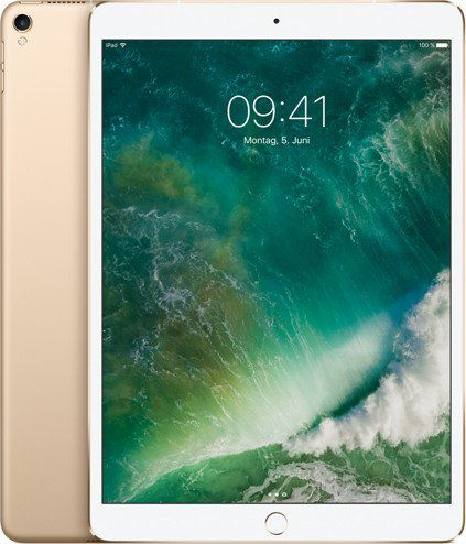 Apple iPad Pro 10.5 Wi-Fi Cell 512GB Gold MPMG2 Planšetdators