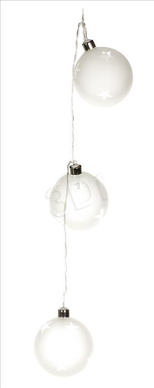 Lampki choinkowe Activejet LED na baterie biale cieple 8szt. (AJELEDDECO/WW/3XAA/2) AJELEDDECO/WW/3XAA/2