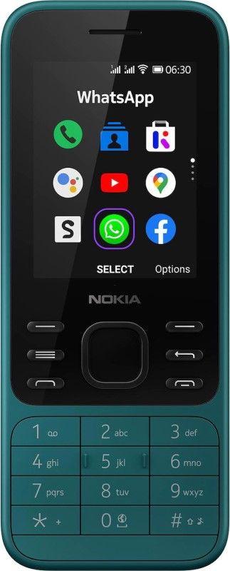 Nokia 6300 4G Dual cyan Mobilais Telefons