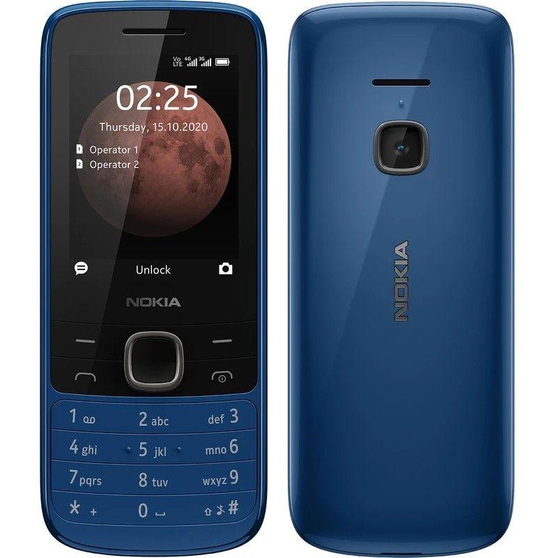 Nokia  225 4G DS (TA-1316) Blue Mobilais Telefons