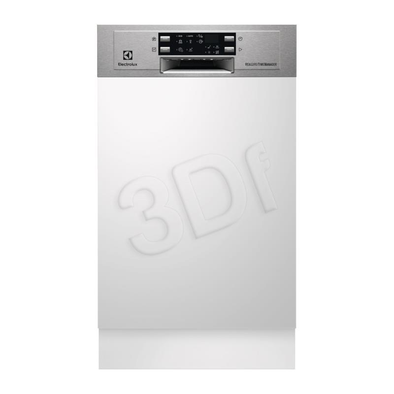 Dishwasher built-in Electrolux ESI 4501LOX ( 44,6 cm ; External ; White ) Iebūvējamā Trauku mazgājamā mašīna