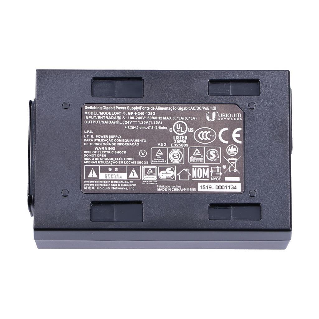 UBIQUITI PoE Adapter 24 VDC 1.0A    POE-24-24W-