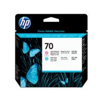 HP Inc. Print Head Light Cyan+Magenta  C9405A C9405A kārtridžs
