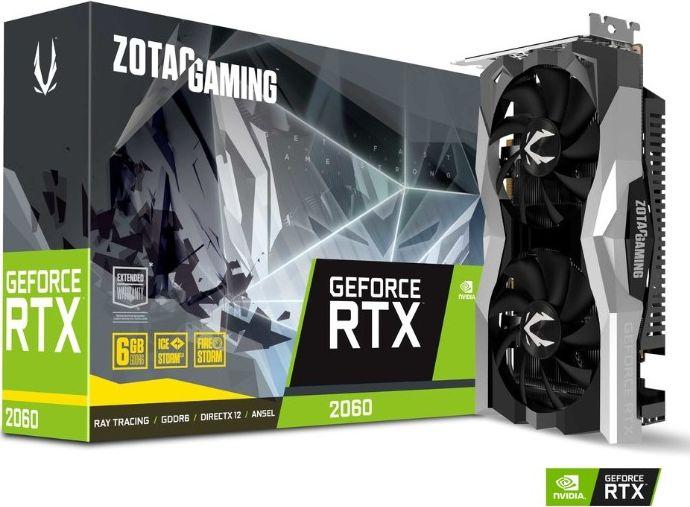 ZOTAC GAMING GeForce RTX2060 6GB GDDR6 video karte