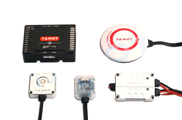 Tarot ZYX-M + GPS - Autopilot - ZYX25