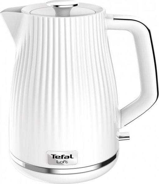 Tefal KO250130 electric kettle 1.7 L White 2400 W Elektriskā Tējkanna