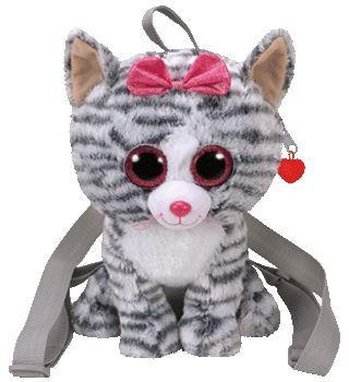 TY Gear. Backpack Kikki - Gray Kitten (266760)