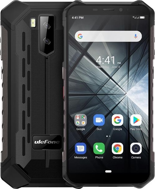 UleFone Armor X3 32 GB Dual SIM Black (ULE-ARMORX3-B ECP) Mobilais Telefons