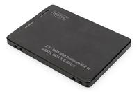 Digitus 2,5S ATA hard disk adap. M.2 o. mSATA 3 6 Gbit/s 520 MB/s USB centrmezgli