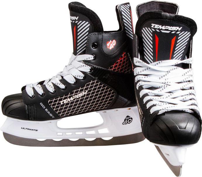 TEMPISH Lyzwy hokejowe Ultimate SH40 Black r. 38 (130000010238) 1300000103-38 Slidošanas un hokeja piederumi