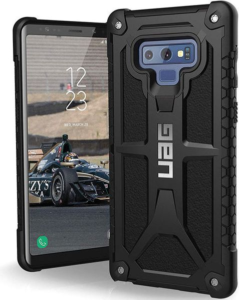 UAG Monarch for Samsung Galaxy Note 9 black maciņš, apvalks mobilajam telefonam