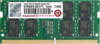 operatīvā atmiņa TS2GSH64V4B Transcend 16GB DDR4 2400 SO-DIMM 2RX8  DDR4 Transcend