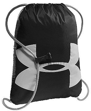 Under Armor Sports bag Ozzie Sackpack black (1240539-001) Sporta aksesuāri