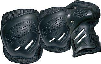 TEMPISH Coolmax 3-piece protectors black XL 10200007-BLKXL Skrituļslidas