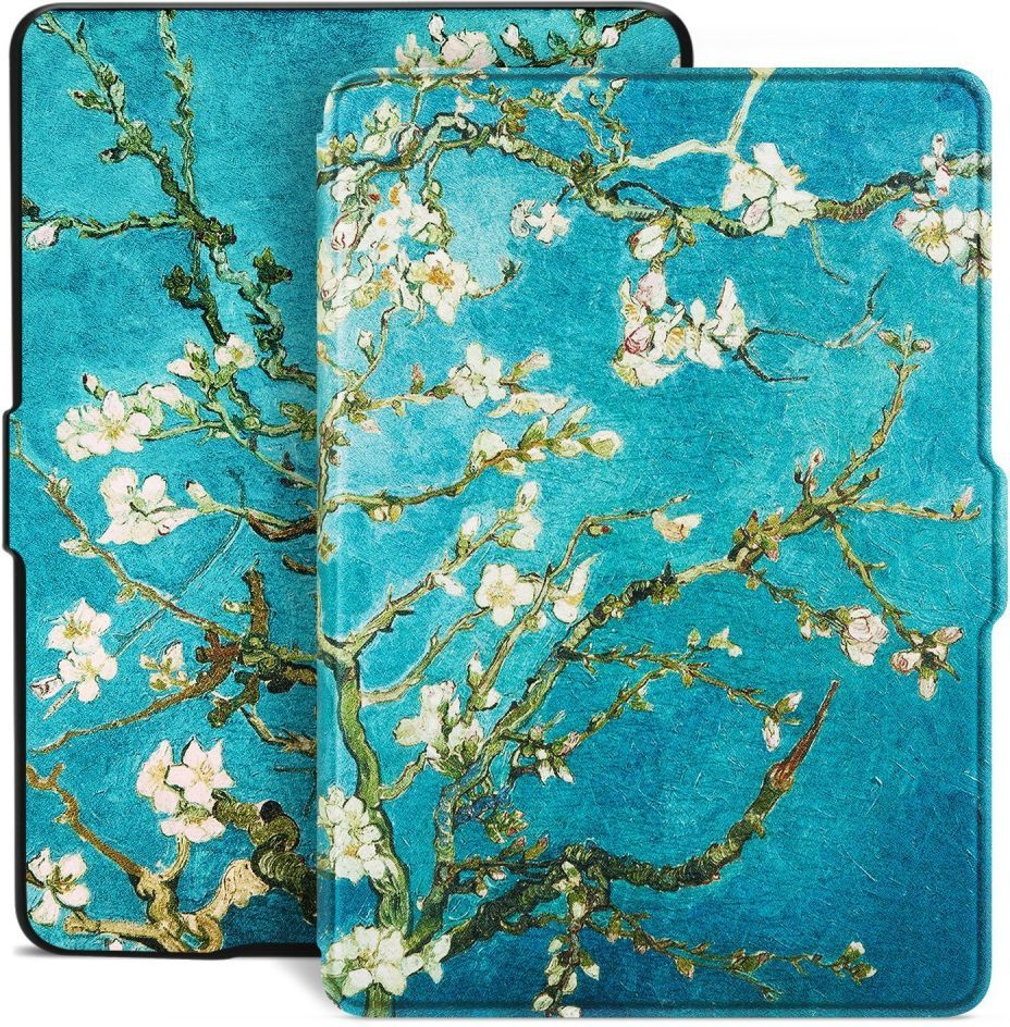Tech-Protect Smartcase for Kindle Paperwhite 1/2/3 Sakura planšetdatora soma