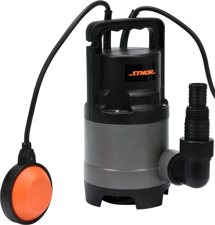 Toya Dirty water pump STHOR 500W (79782) Dārza laistīšanas iekārtas