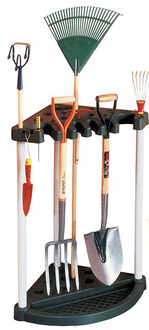 Keter Darza darbariku turetajs stura Corner Tool Rack melns 29361063