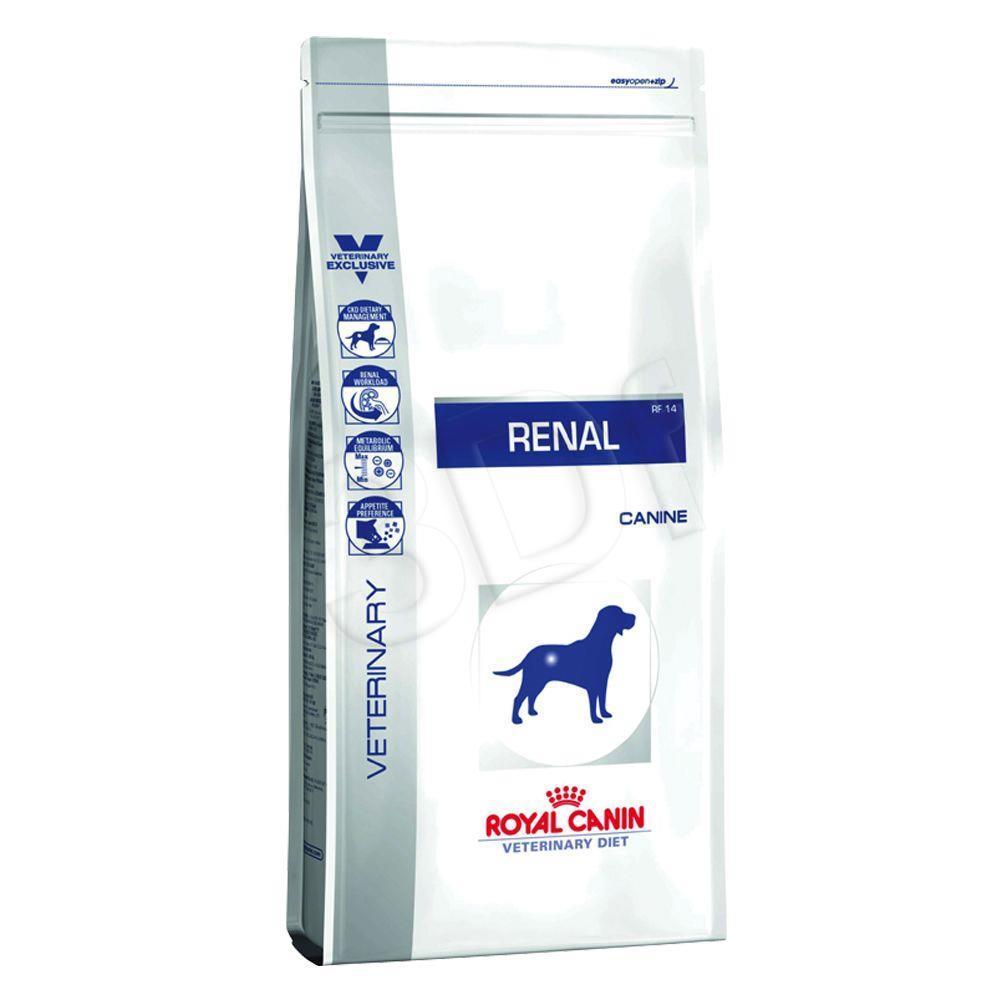 Royal Canin Dog renal 14 kg barība suņiem