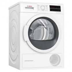 Bosch Dryer Machine WTW85L48SN  Condensed, Condensation, 8 kg, Energy efficiency class A++, Number of programs 9, Self-cleaning, White, Dept Veļas žāvētājs