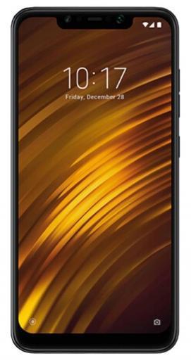 XIAOMI Pocophone  F1 6GB/128GB Black Mobilais Telefons