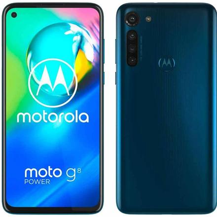 Motorola Moto G8 4GB/64GB Power Blue Mobilais Telefons
