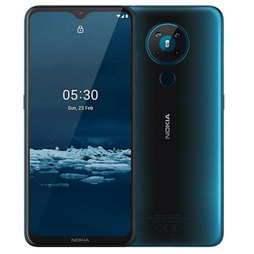Nokia 5.3 64GB Cyan Mobilais Telefons