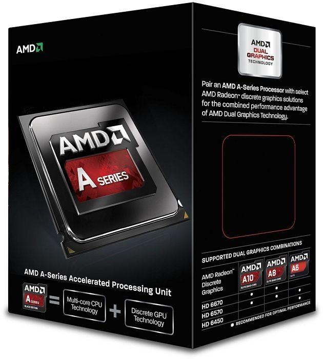 AMD A-Series A6-6420K X2 SFM2 BOX AD642KOKHLBOX CPU, procesors
