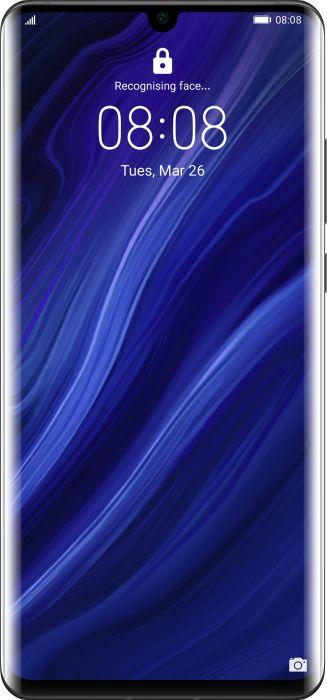 Huawei P30 Pro 8GB/128GB Black Mobilais Telefons