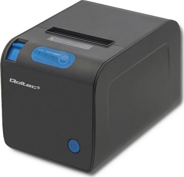 Qoltec 50246 Receipt printer | thermal | max. 72 mm uzlīmju printeris