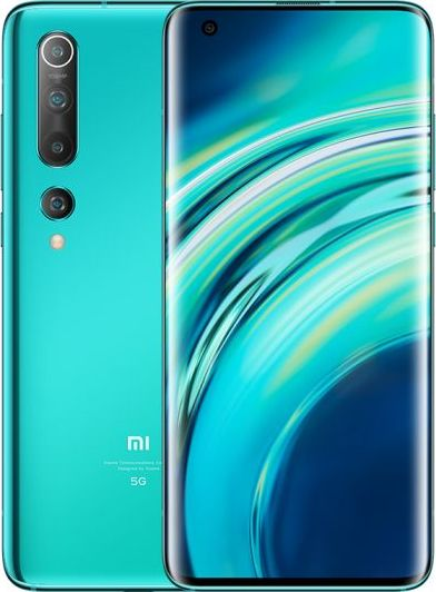 Smartfon Xiaomi Mi 10 5G 256 GB Zielony  (xiaomi_20200506153316) xiaomi_20200506153316 Mobilais Telefons