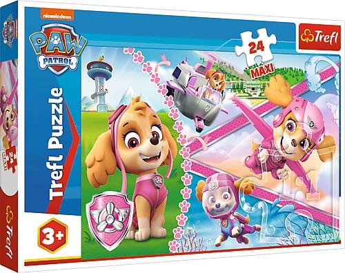 Trefl Puzzle 24 pieces Paw Patrol - Heroic Skye puzle, puzzle