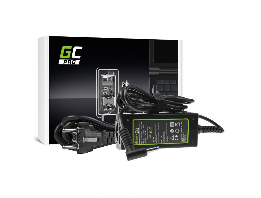 Green Cell PRO 19.5V 2.31A 45W for HP 250 G2 G3 G4 G5 255 G2 G3 G4 G5, HP ProBook 450 G3 G4 650 G2 G3 portatīvo datoru lādētājs